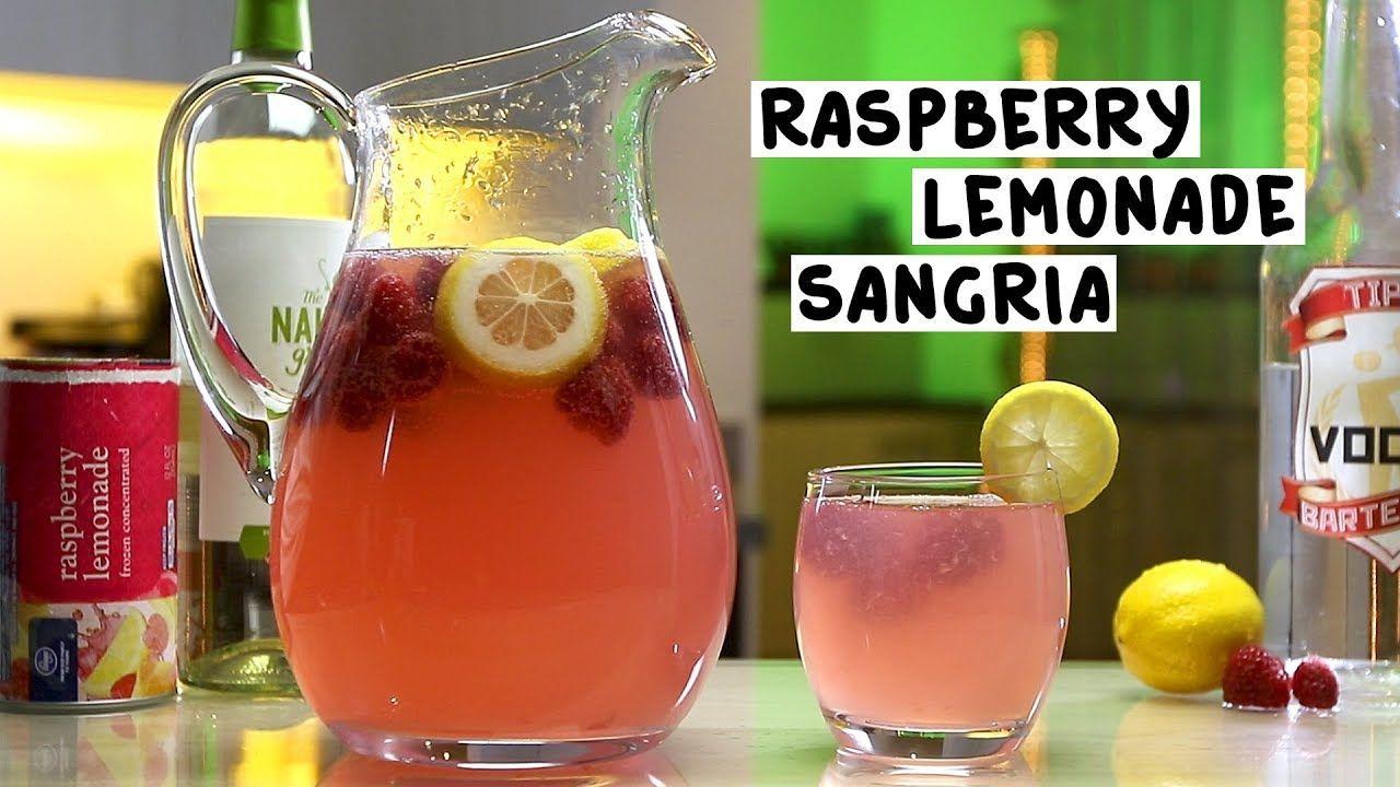 Raspberry Lemonade Sangria Tipsy Bartender Recipe Raspberry Lemonade Lemonade Sangria Tipsy Bartender