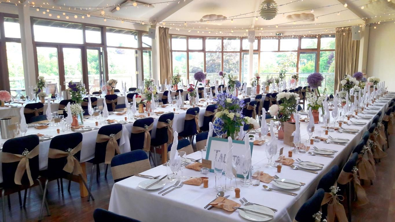 The Longhouse Looking Beautiful For Amanda Charlies Wedding