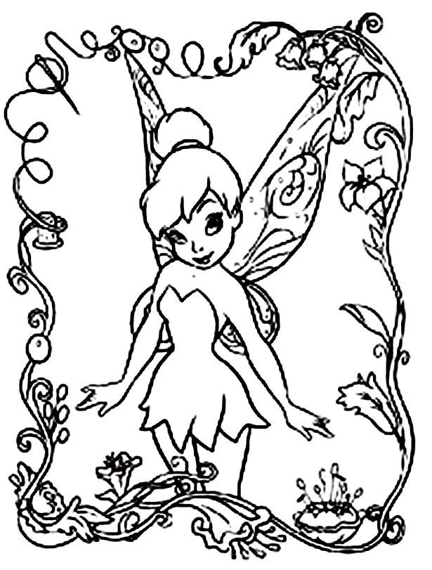 Free Printable Disney Fairies Coloring Pages For Kids Disney