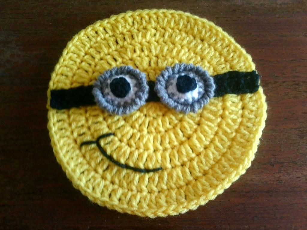 Minion dish wash cloth or applique pattern on craftsy minion dish wash cloth or applique pattern on craftsy bankloansurffo Choice Image