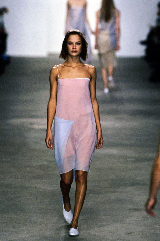 Calvin Klein Collection Spring 1998 Ready to Wear Fashion Show