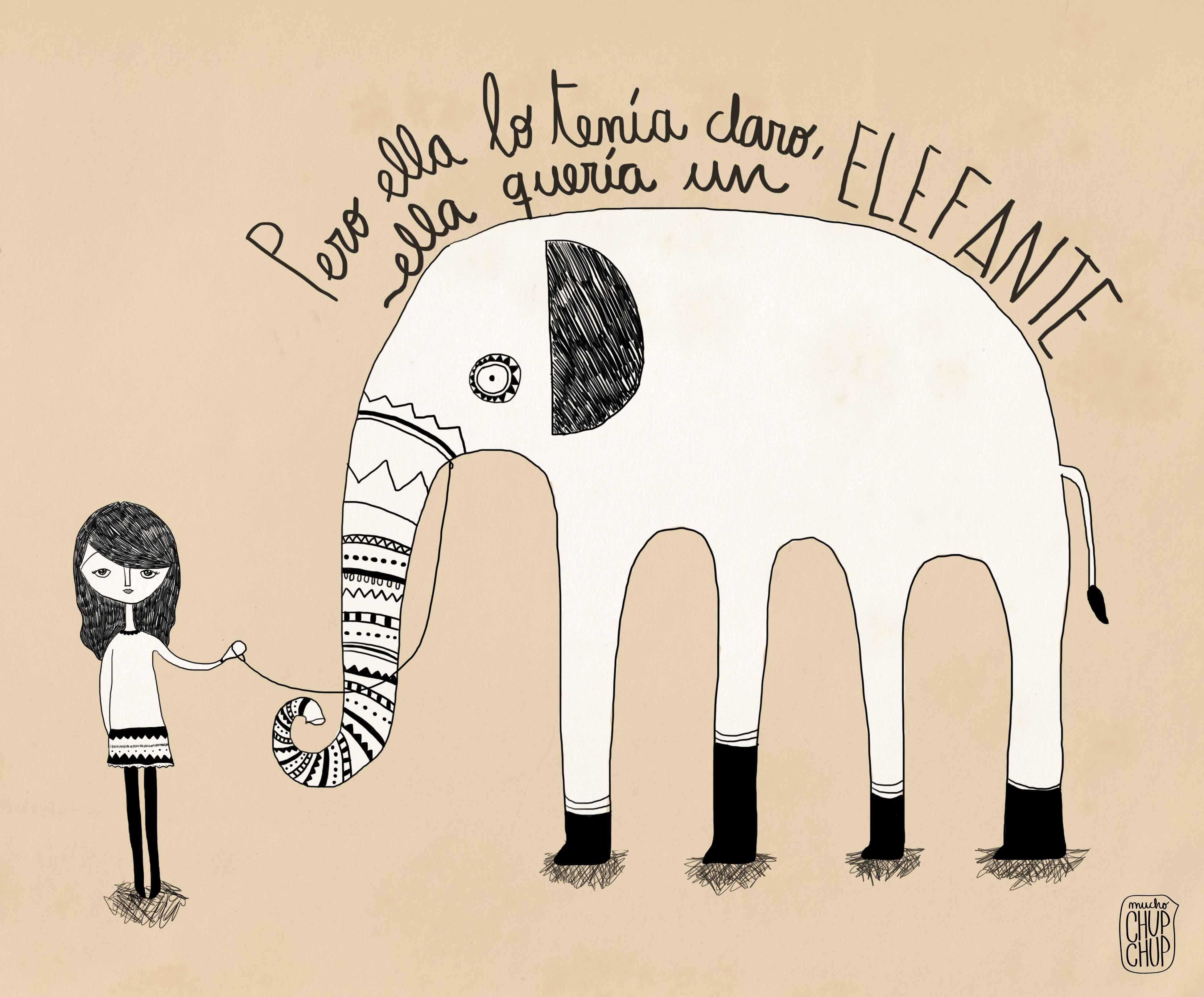 Ella quería un elefante