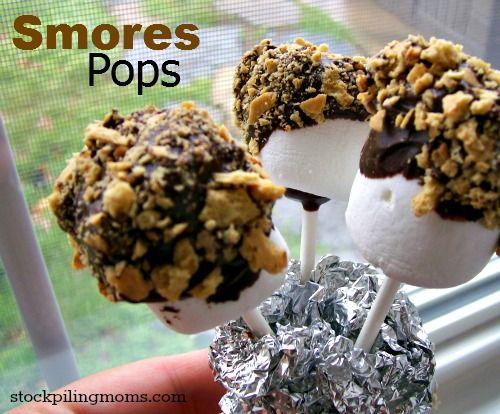 Photo of Smores Pops