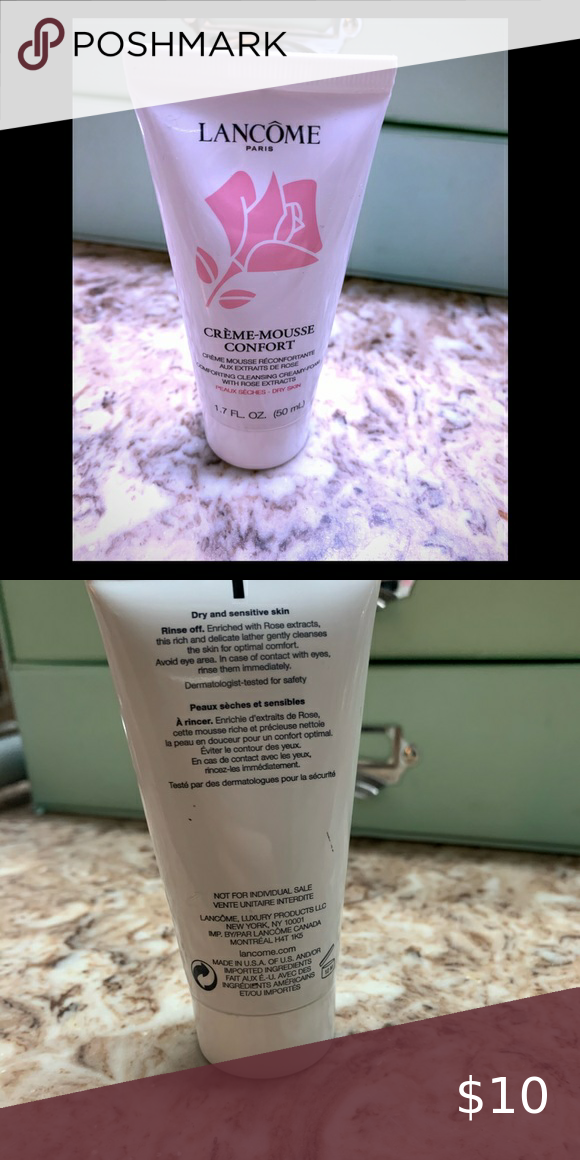 New Lancôme face wash for dry & sensitive skin New. No box