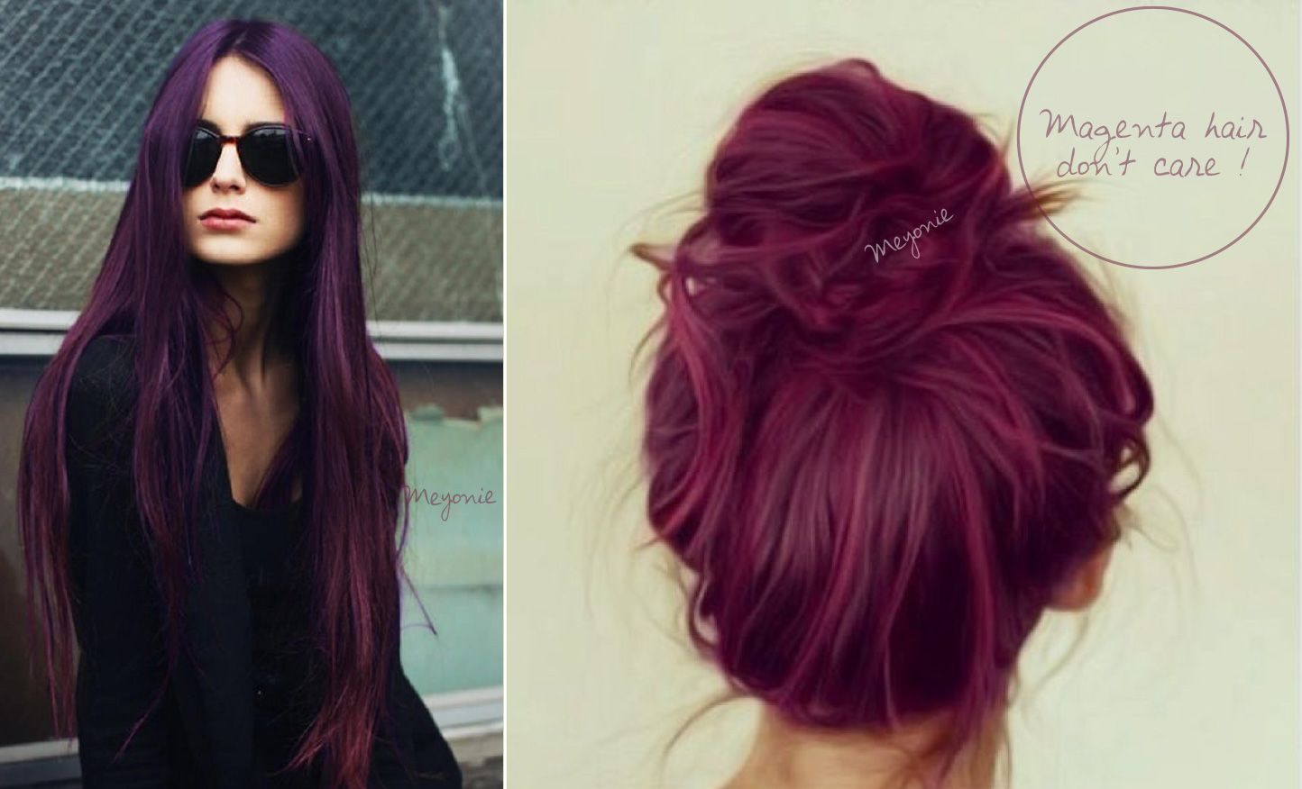 1000 images about coiffure on pinterest bobs coupes courtes and my hair - Coloration Cheveux Rouge Violet