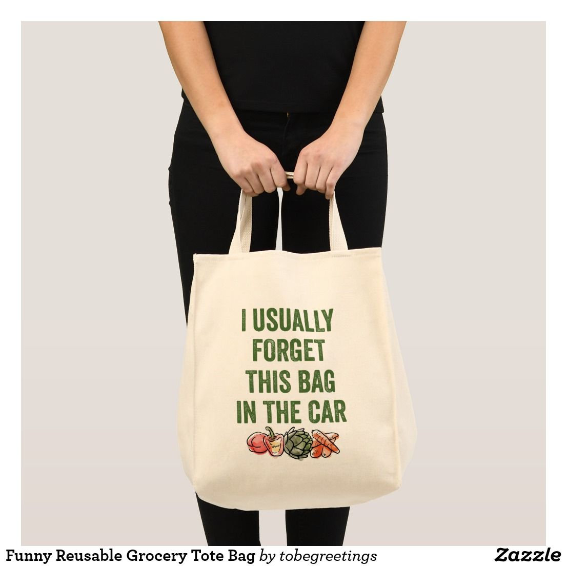 9ccd8adb6bffc Funny Reusable Grocery Tote Bag | Zazzle.com | Keto & Low Carb Lunch ...