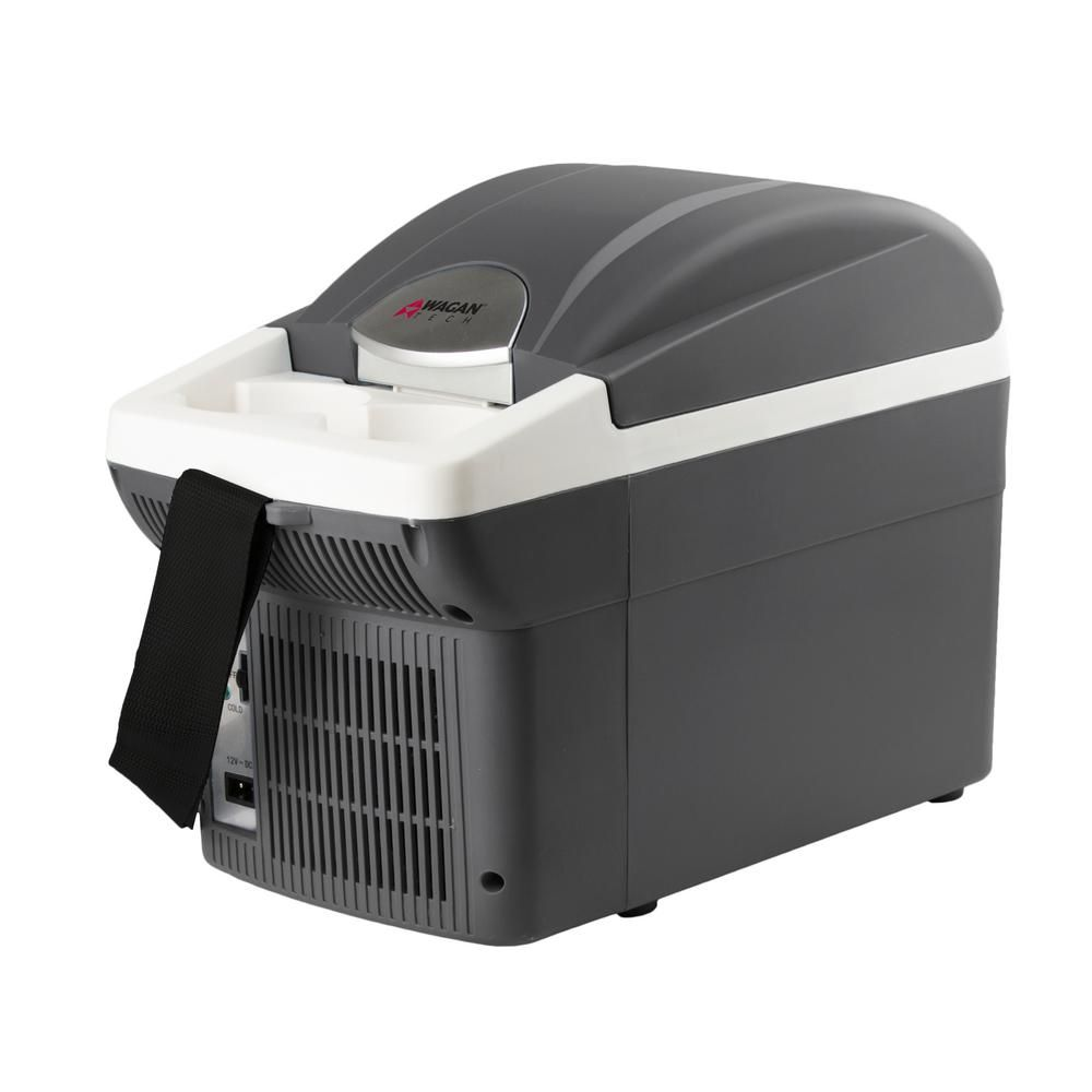 Wagan Tech 12 Volt 6 Qt Chest Cooler Warmer With Carry Strap Gray Soft Sided Coolers Types Of Insulation Tech