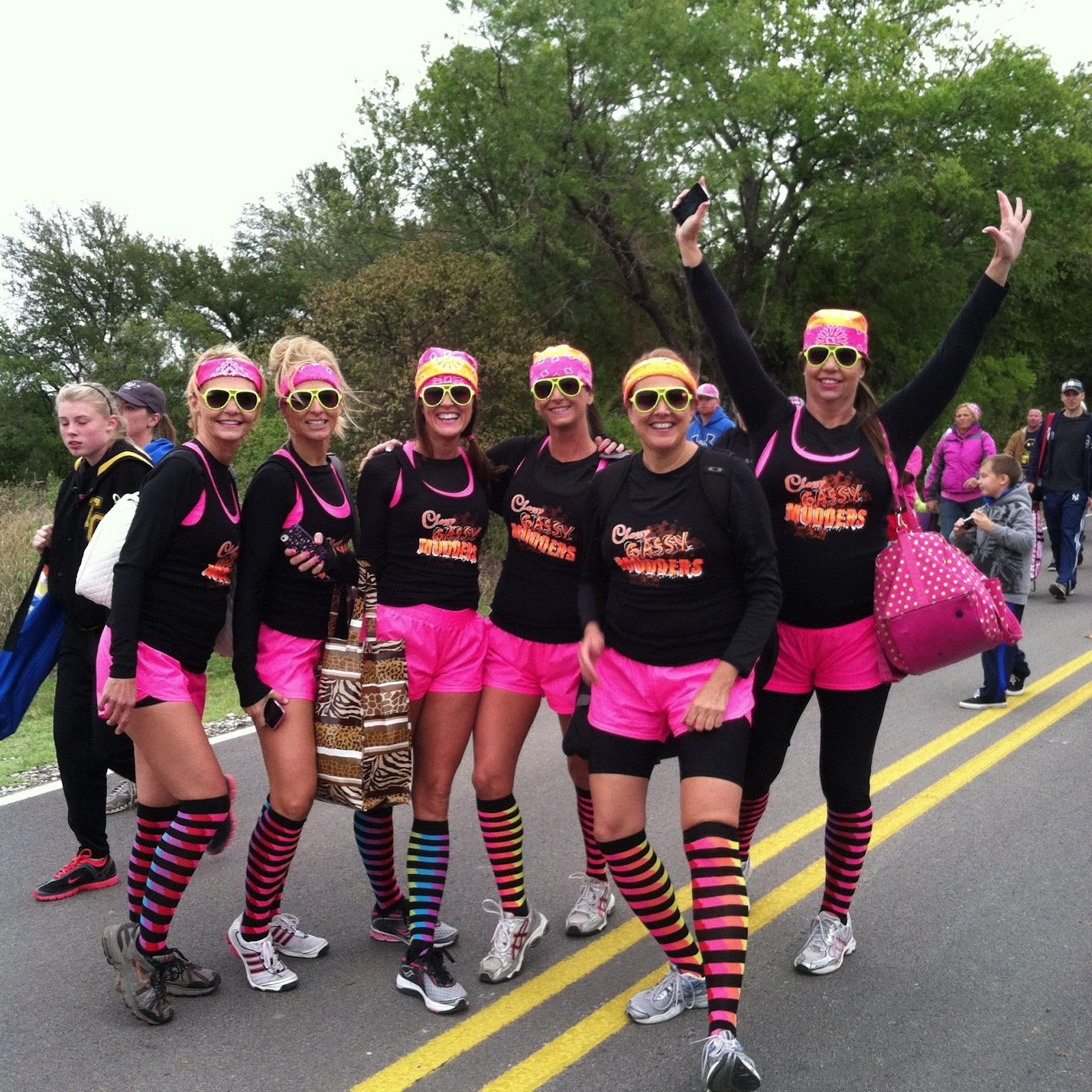 Mud Run Outfits All About A Better Nellie Pinterest