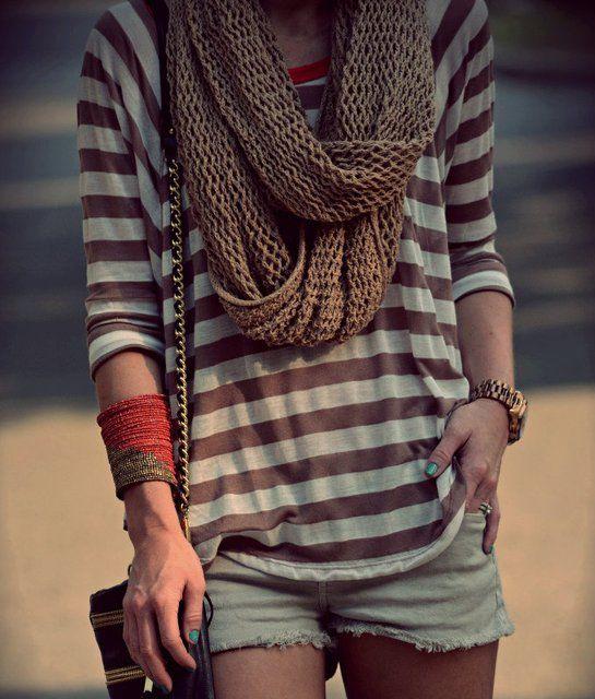 Fancy - Chunky Knit Infinity Scarf