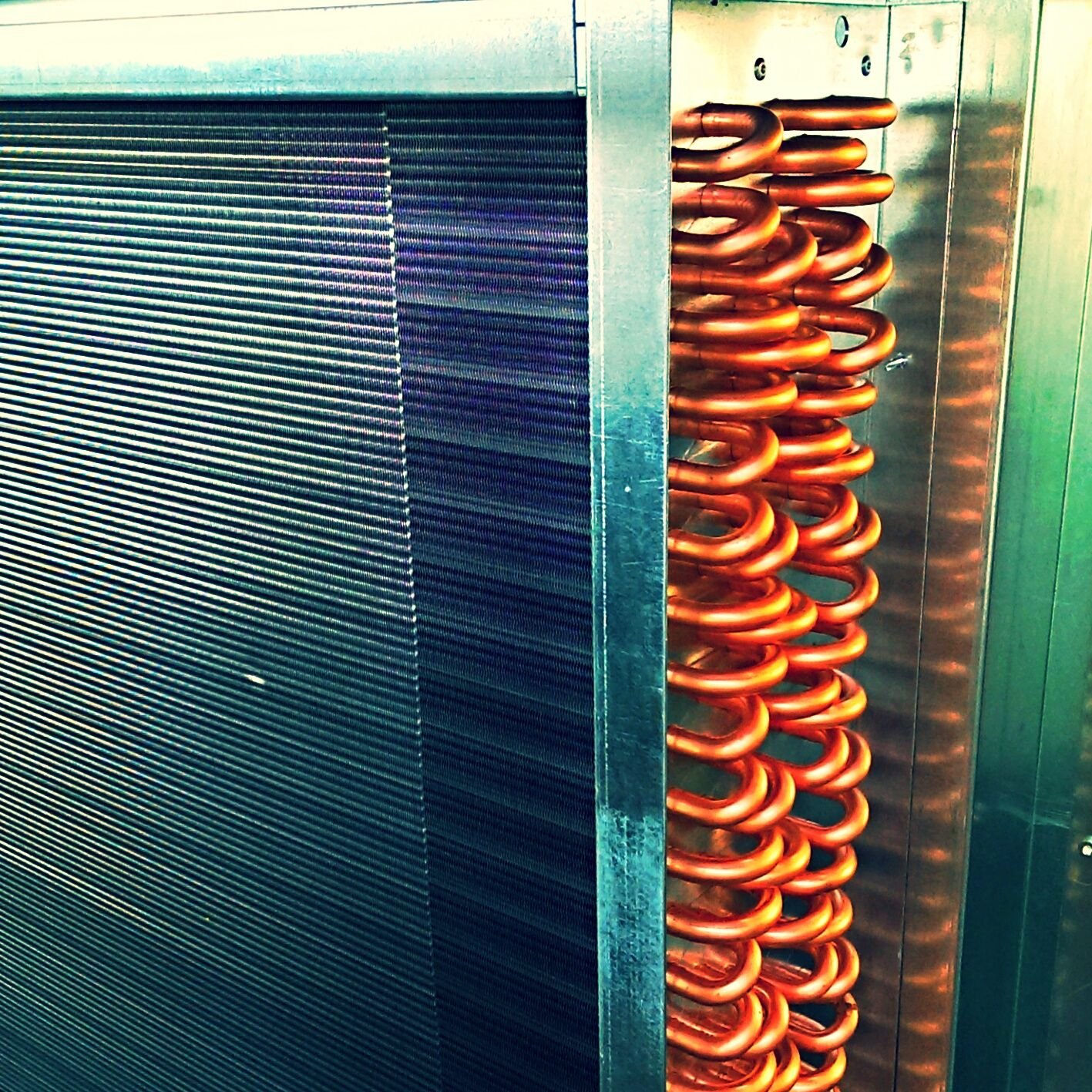 Coil For High Efficiency Data Center Cooling Unit Crah