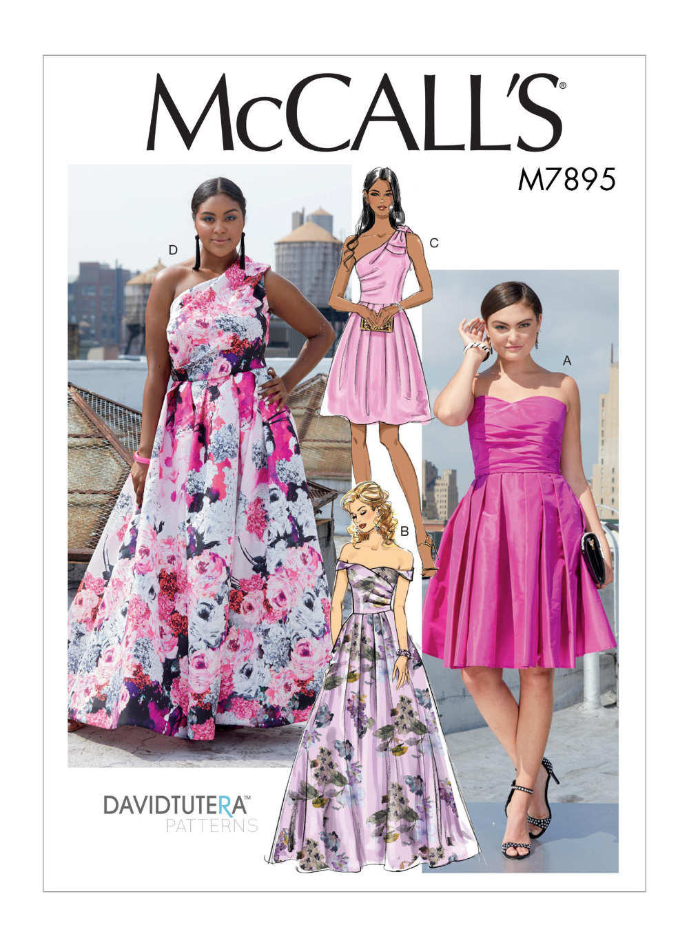 M7895 Misses Women S Dresses Sewing Pattern Mccall S Patterns