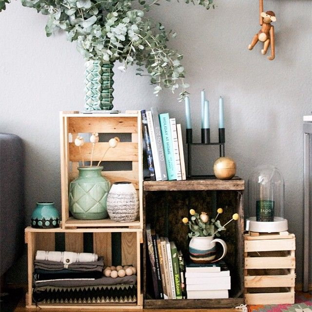 more crate styling at home the full story on the blog on friday - Home Styling Blog