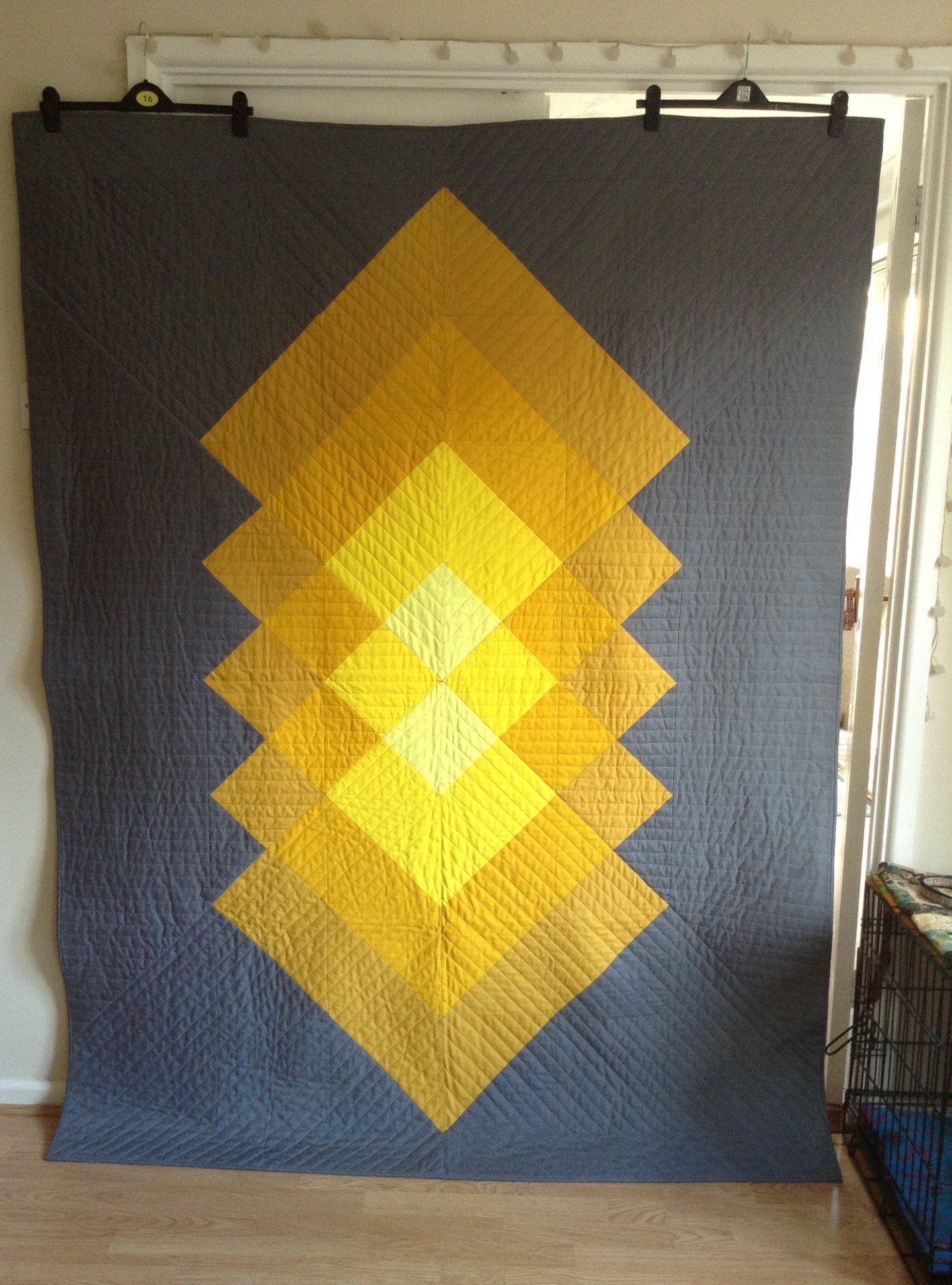 Modern CLM260651 Quilt Blanket - Humpine #modernquiltingdesigns