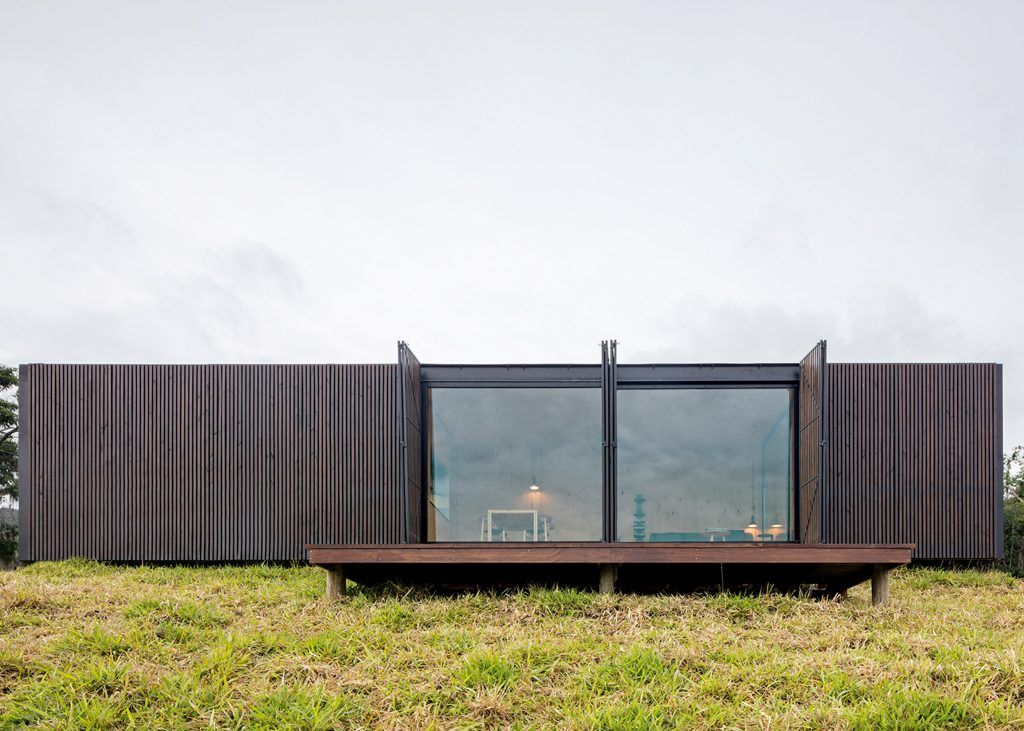 These prefab modular homes in a nature reserve are the ultimate ...