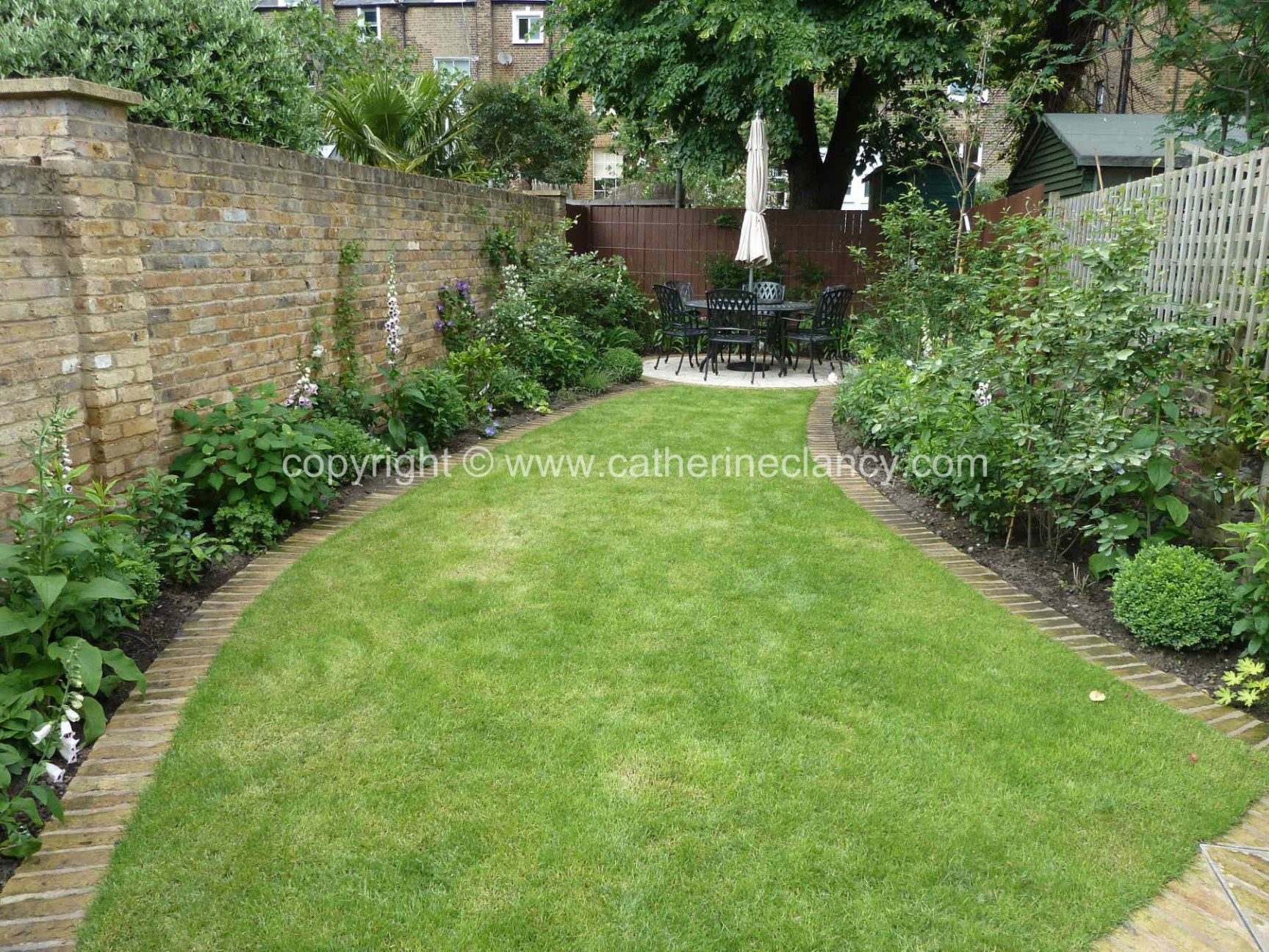 Victorian north facing garden | North facing garden ...