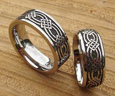 celtic titanium wedding rings 300 RINGS Pinterest Titanium