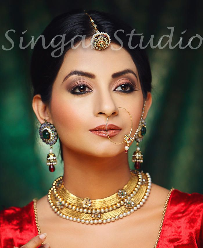 Gold Bridal Necklace Indian Jewellery Jewelry Maang Tikka
