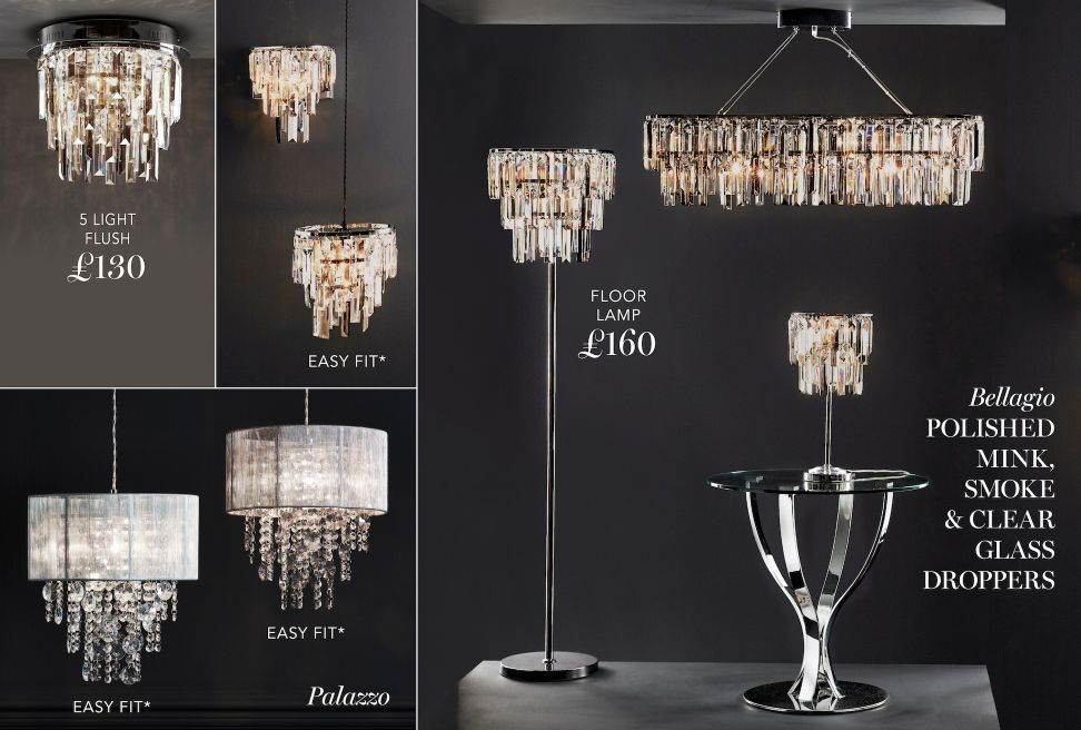 Buy Palazzo Smoke Easy Fit Pendant from the Next UK online shop & Lighting Collection | Lighting u0026 Accessories | Home u0026 Furniture ... azcodes.com