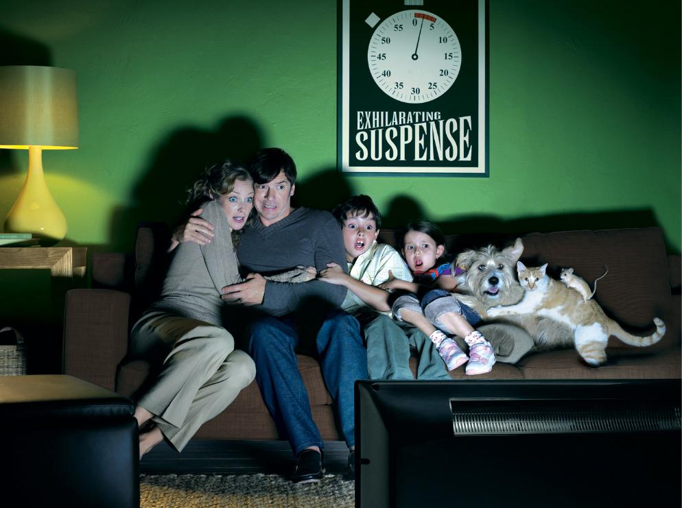 도대체 얼마나 무서운 공포영화를 보길래...  동물가족들도 ㅎ ㄷ ㄷ  어떤 영화였을까요? 공포영화 댓글소개 부탁드립니다~~