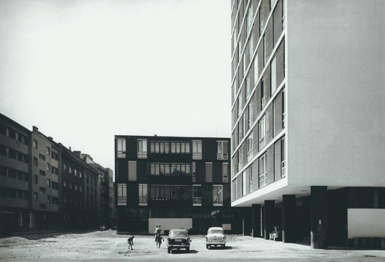Ivo Vitić - Stambeni blok Narodne banke, 1958.-1962., Zagreb