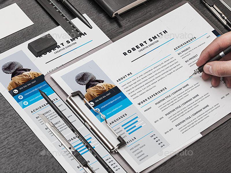 Resume/CV Creative Touchs Infographic resume