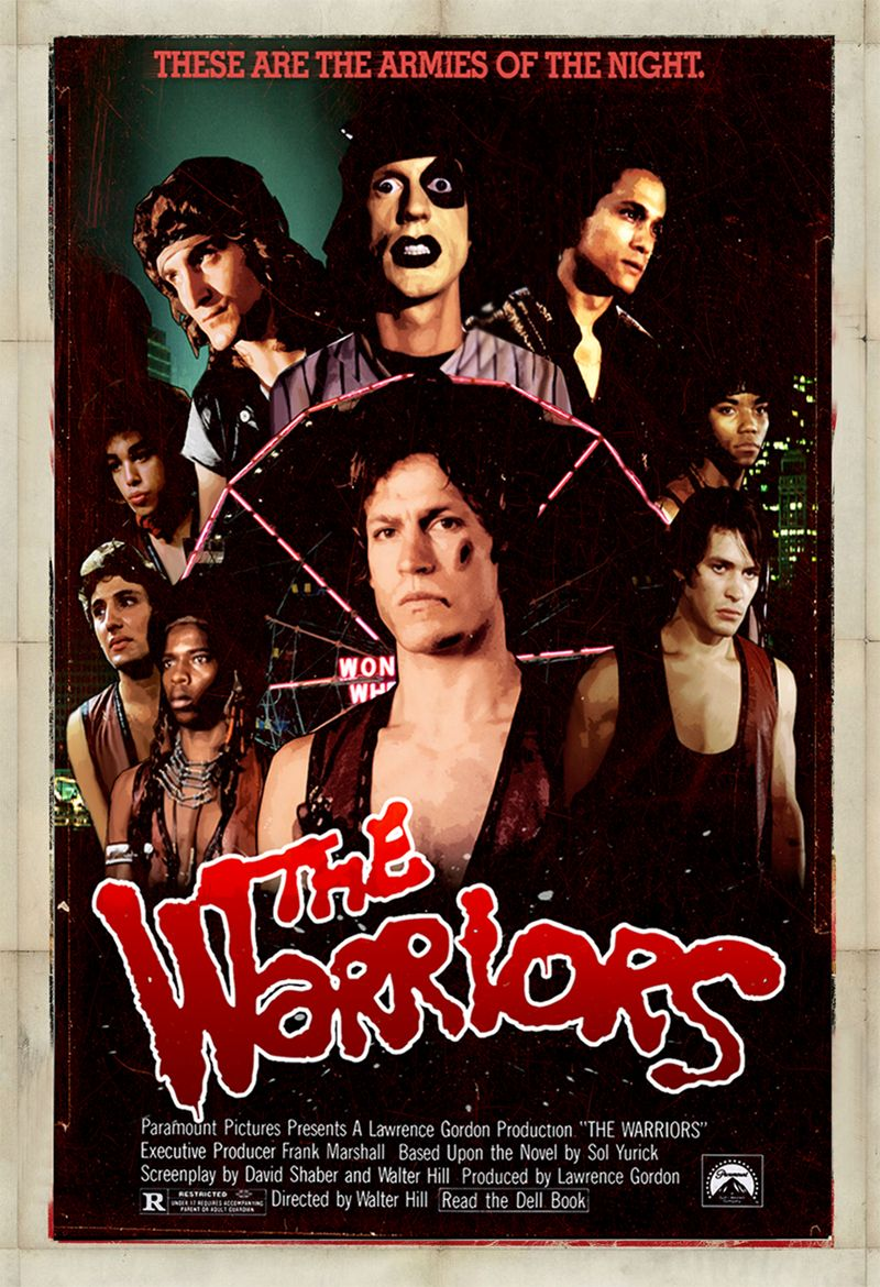 "/""The Warriors/"" ..Michael Beck..Classic 1979 Movie Poster Various Sizes"