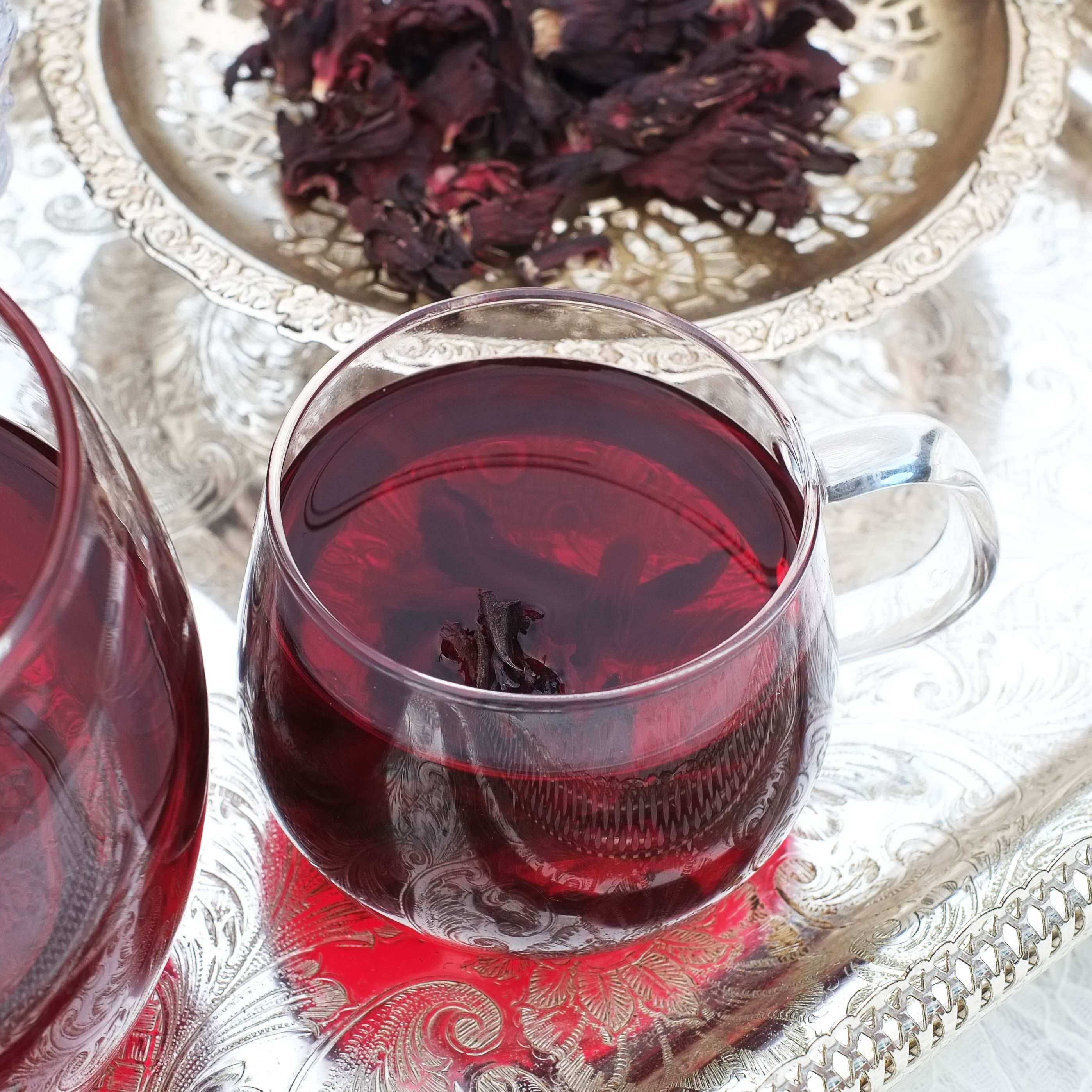 Aside from its multitude of possible health benefits hibiscus tea aside from its multitude of possible health benefits hibiscus tea is delicious and easy to prepare at home simply add dried hibiscus flowers to a teapot izmirmasajfo Choice Image