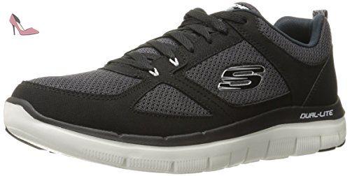 Skechers Flex Advantage 2.0, Chaussures Multisport Outdoor Homme, Bleu (Bllm), 47.5 EU