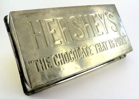 Vintage Hershey S Chocolate Mold Five Pound Chocolate Bar National Chocolate Cake Day Chocolate Cake Hershey Chocolate