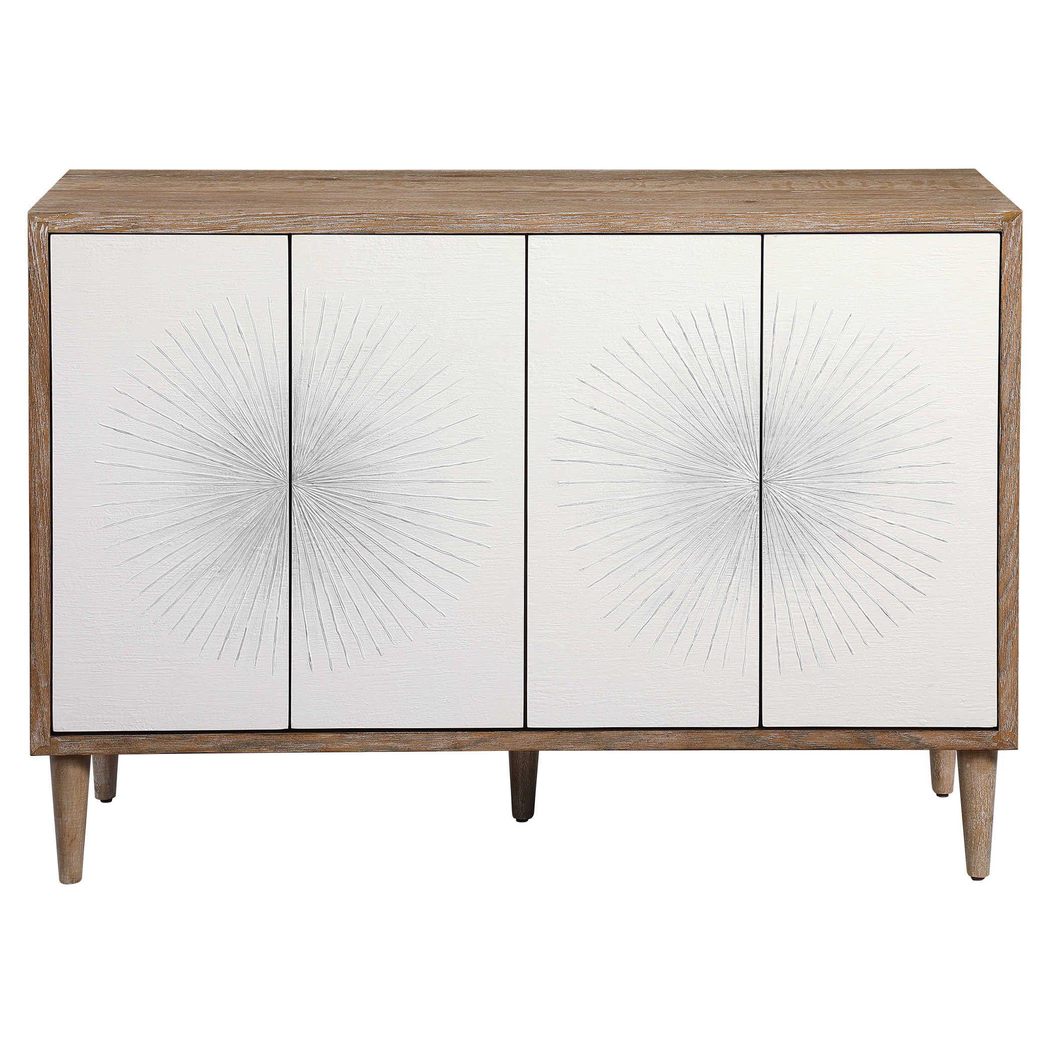 Dani 4 Door Cabinet Scandinavian Side Board Cabinet 4 Door Etsy In 2020 Scandinavian Cabinets Accent Doors Adjustable Shelving