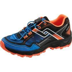 Photo of Pro Touch kids trail running shoes Ridgerunner V Aqb Jr, size 38 in black / blue / orange, size 38