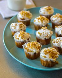 Gluten-Free Carrot Cake Cupcakes Recipe on Food & Wine