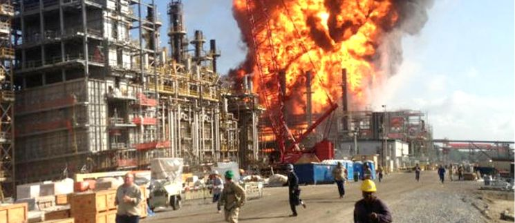 Another Chemical Plant Explodes as Industry Booms Due to Cheap Natural Gas from Fracking