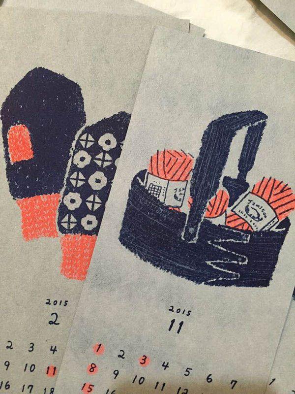 60 Inspirational Calendar Design for 2015