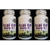 ACAI Fat Burn #3 all Pure Diet Pill with Green Tea, Grapefruit, Apple Cider, and more for Weight Loss and fat burning (Health and Beauty)By ACAI Fat Burn #3