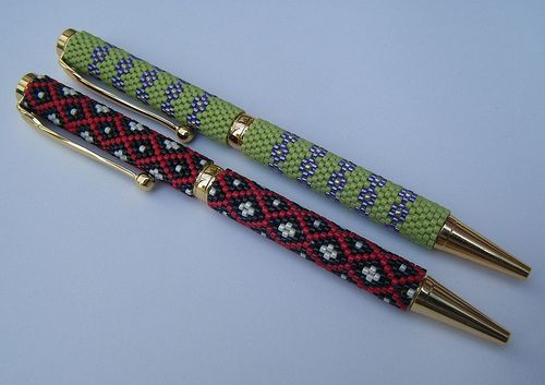 Beaded pens | Flickr - Photo Sharing!
