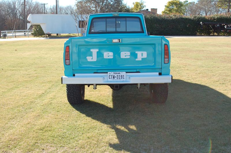 Jeep J10 Frame Off Restoration- love that turquoise | Jeep