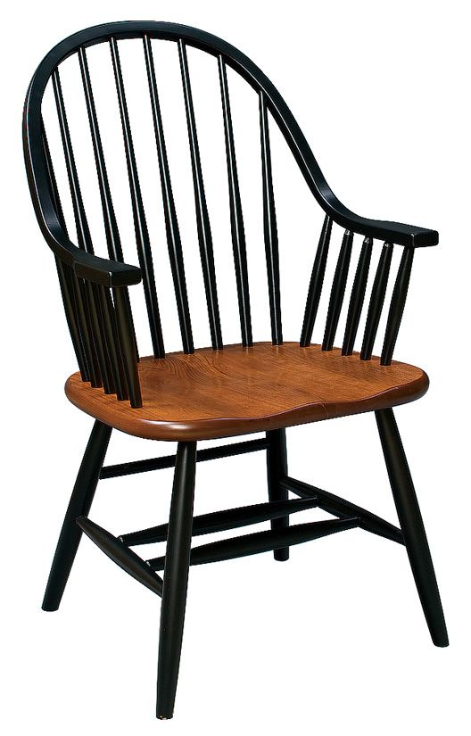 amish unfinished eight spindle arm chair z60aw chairs dining rh pinterest com