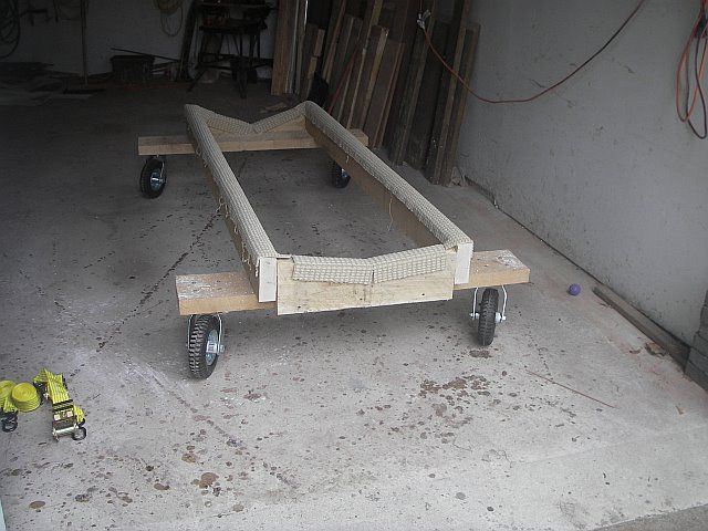 Boat Stand Dolly Cradle Boat Stands Build Your Own