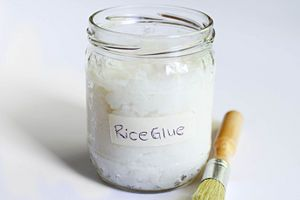 Rice Glue! Step-by-step instructions to make this awesome adhesive from wikiHow.com