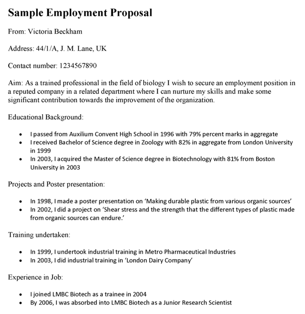 Technical Proposal Template Template
