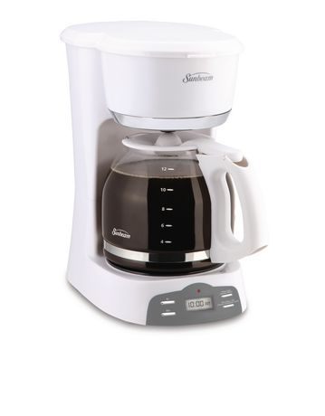 Sunbeam Programmable 12 Cup Coffee Maker Walmart Canada