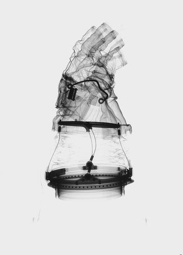 A7L spacesuit glove x-ray