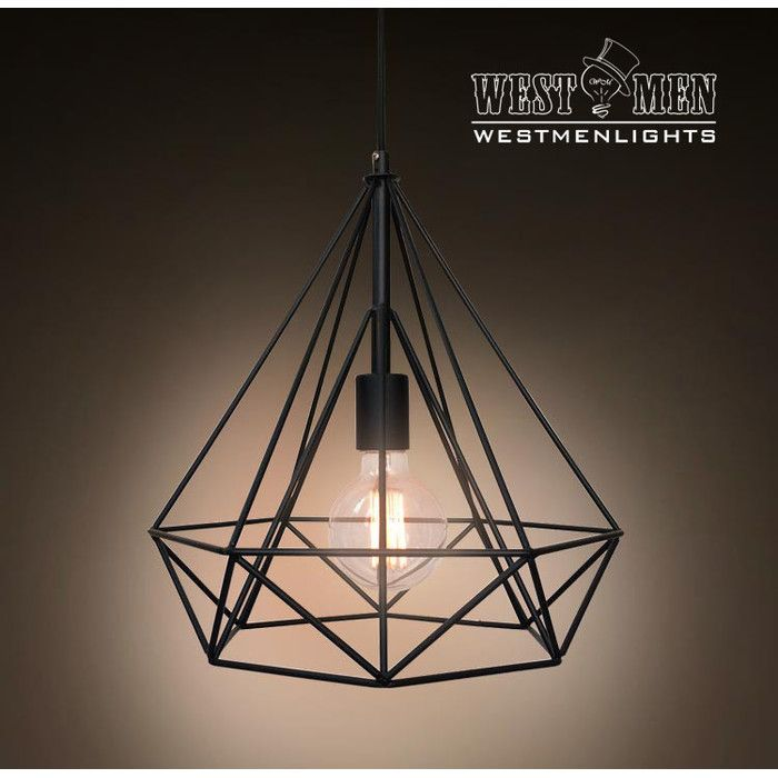 Westmen Lights 1 Light Foyer Pendant | AllModern | Cage