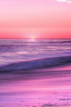 Sunrise Sea Beach Sky Pink Evening Nature Iphone Wallpaper Mobile Wallpaper In 2020 Nature Iphone Wallpaper Ombre Wallpapers Purple Ombre Wallpaper
