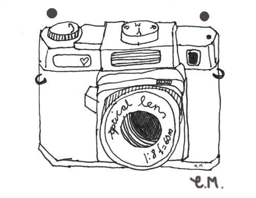 More Whimsy Camera Illustration Illustration Sketches Camera Clip Art