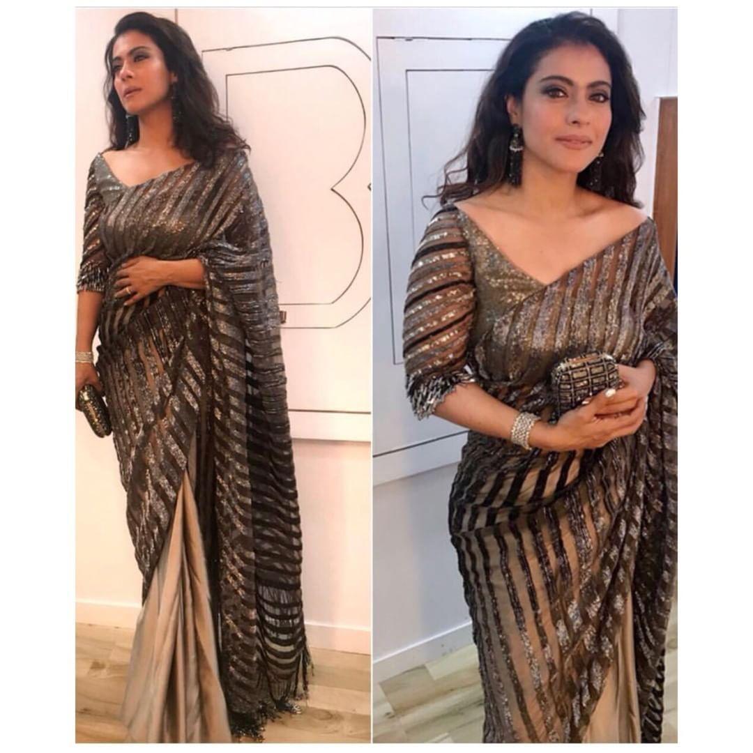 b4f719ad34ca5f Kajol looks glamours in black Saree by Manish Malhotra at sonam kapoor  wedding ⠀⠀⠀⠀⠀⠀⠀⠀⠀ ⠀⠀⠀⠀⠀⠀⠀⠀⠀ #houseof29 9 #bridesmaids…