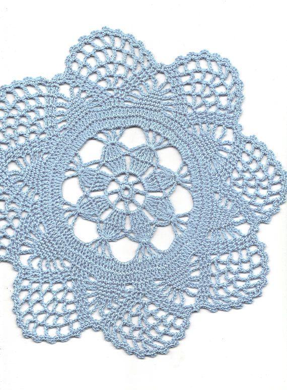 Vintage Handmade Crochet Doily Lace Doilies Wedding Decoration