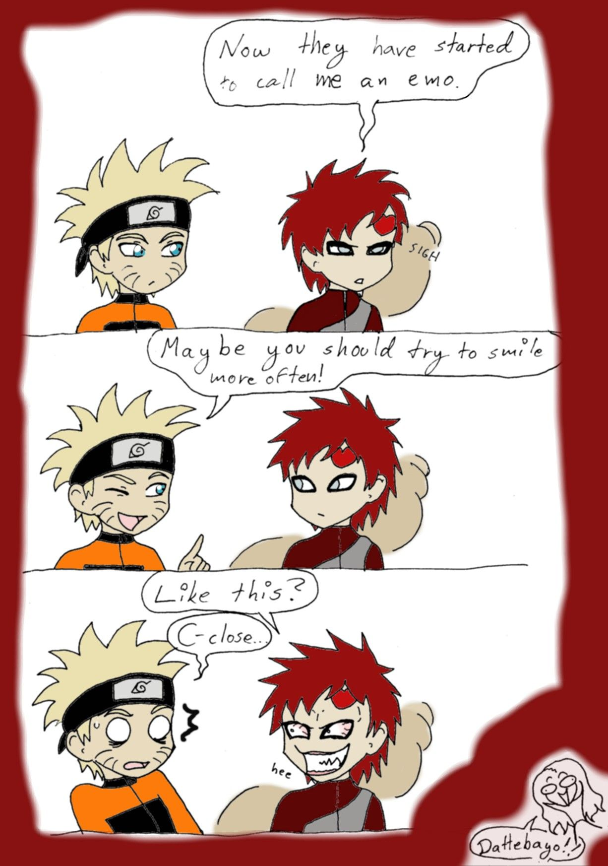 Gaara And Mum