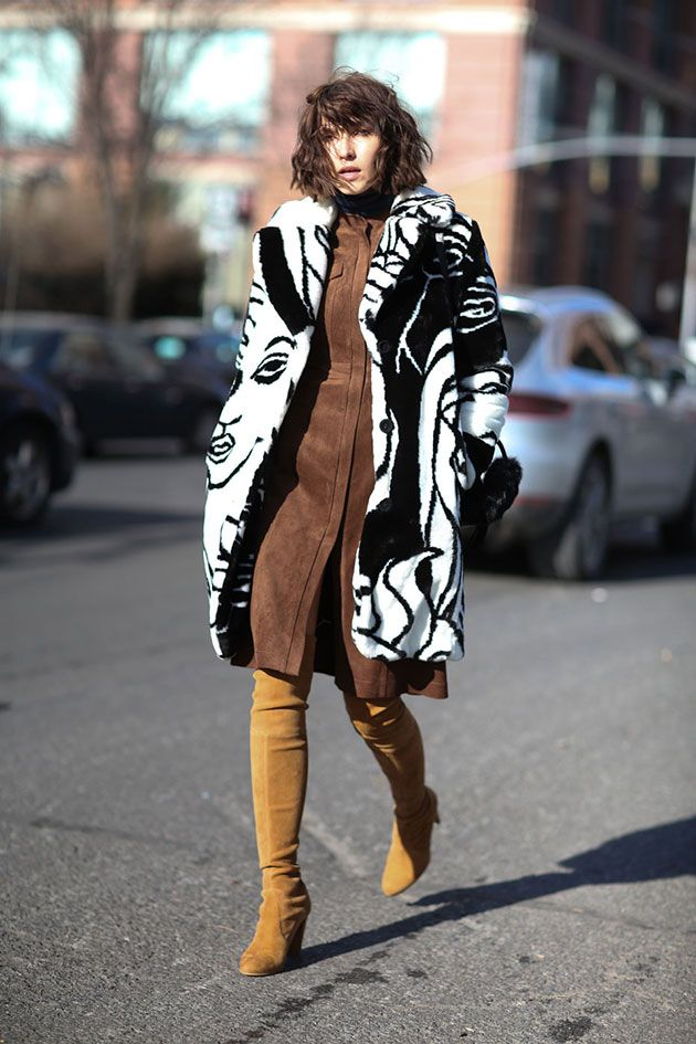 Street Style Kombinacije Brusena Koza Journal Street Style Trends Nyfw Street Style Street Style Looks